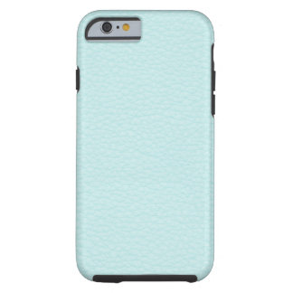 Picture of Light Turquoise Leather. Tough iPhone 6 Case