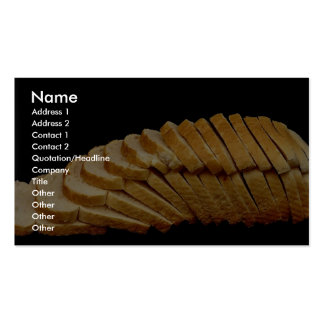 Picture of Loaf of bread Business Cards