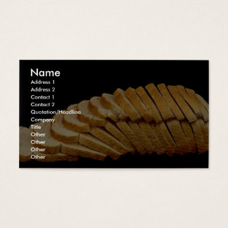 Picture of Loaf of bread Business Card