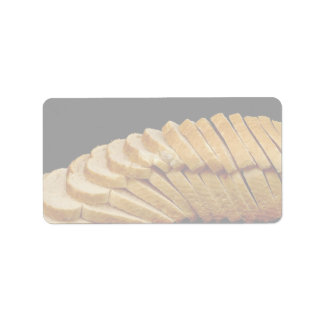 Picture of Loaf of bread Custom Address Label