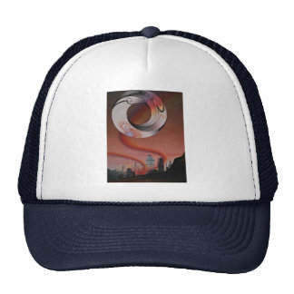 Picture of Metro-energy, abstract art Hats