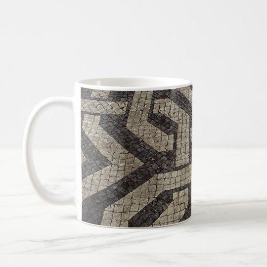 Picture of Mosaic, Lisbon, Portugal Coffee Mug