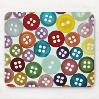 Picture of Multicolored buttons Mouse Pad