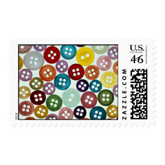 Picture of Multicolored buttons Stamps