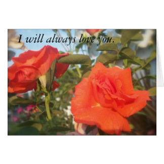 Picture of Nature 115, I will always love you. Card