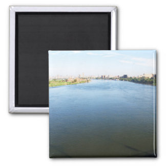 Picture of Nile River in Cairo Egypt Magnet