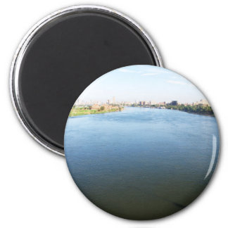 Picture of Nile River in Cairo Egypt Fridge Magnet