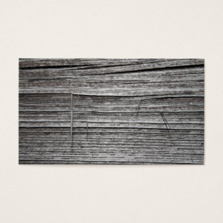Picture of Old Splintering Wood. Business Card