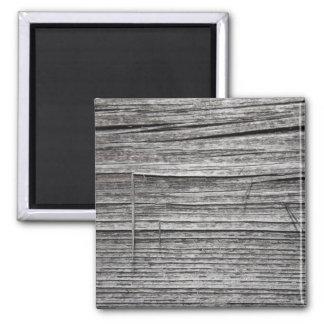 Picture of Old Splintering Wood. Magnet