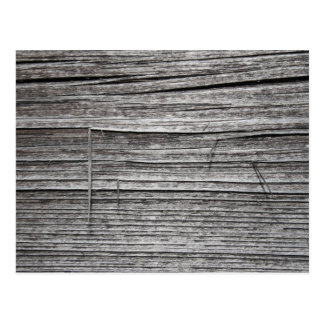 Picture of Old Splintering Wood. Postcard