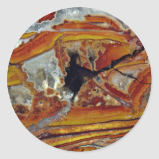 Picture of Orange and yellow jasper Stickers