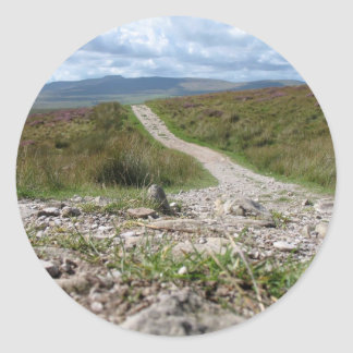 Picture Of Path In Lake District Taken From The Gr Stickers