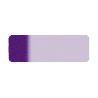 Picture of Purple Leather. Label