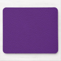 Picture of Purple Leather. Mouse Pad