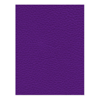 Picture of Purple Leather. Postcard