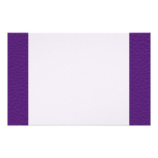 Picture of Purple Leather. Stationery