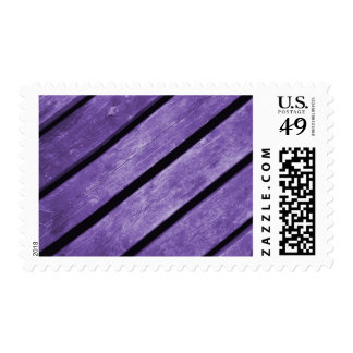 Picture of Purple Planks of Wood Postage