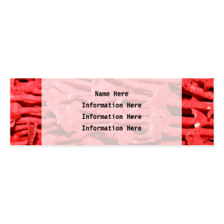 Picture of Red Organ Pipe Coral. Business Card Templates