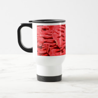 Picture of Red Organ Pipe Coral. Travel Mug