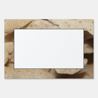 Picture of Sea Sponge. Yard Signs