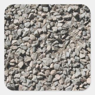 Picture of Small Stones. Square Sticker
