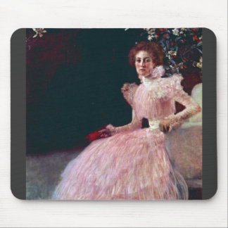 Picture of Sonja Knips by Gustav Klimt Mouse Pad