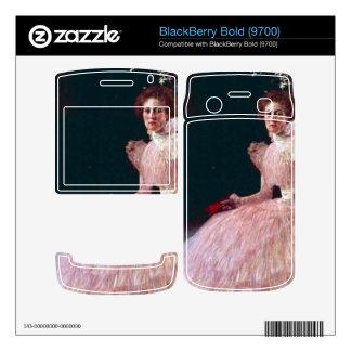 Picture of Sonja Knips by Gustav Klimt BlackBerry Bold 9700 Skin