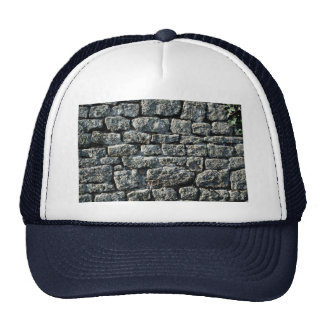 Picture of Stone wall texture Mesh Hat