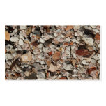 Picture of Stones on a Wall. Business Card Template