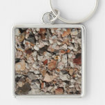Picture of Stones on a Wall. Key Chains