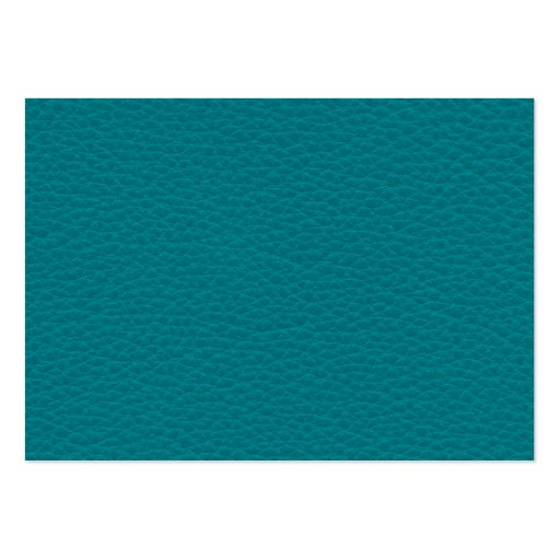 Picture of Teal Leather. Large Business Cards (Pack Of 100)