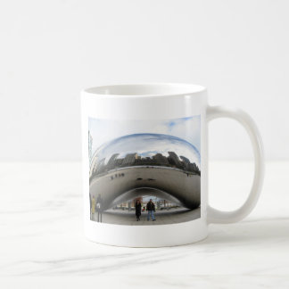 Picture of the Bean in Millennium Park Classic White Coffee Mug