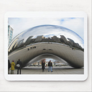 Picture of the Bean in Millennium Park Mouse Pad