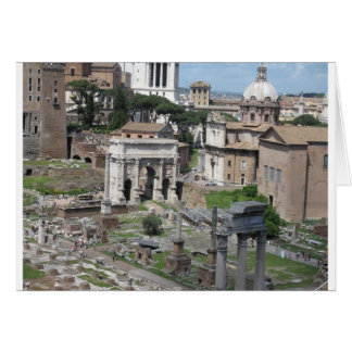 Picture of the Roman Forum Card