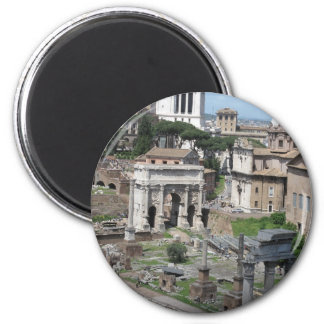 Picture of the Roman Forum Magnet