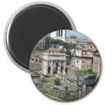 Picture of the Roman Forum Refrigerator Magnets