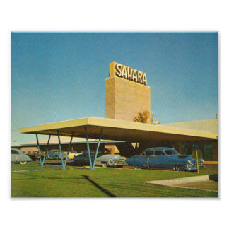 Picture Of The Sahara Casino in the 1950's Photo Print
