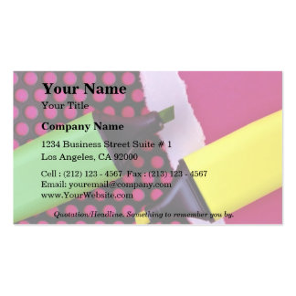 Picture of Two pens Business Card Template