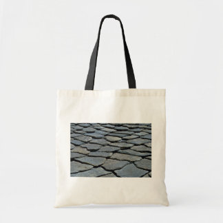 Picture of Typical stone roof, French Alps, France Canvas Bag