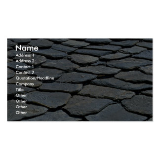 Picture of Typical stone roof, French Alps, France Double-Sided Standard Business Cards (Pack Of 100)