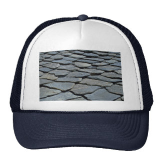 Picture of Typical stone roof, French Alps, France Trucker Hat