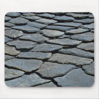 Picture of Typical stone roof, French Alps, France Mouse Pad