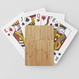 Picture of Varnished Pieces of Wood Card Deck