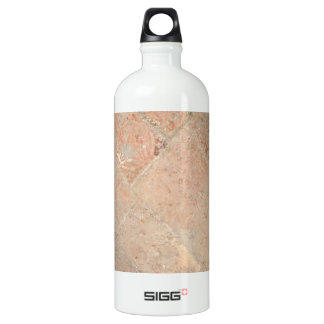 Picture of Vintage Weathered Old tiles. Aluminum Water Bottle