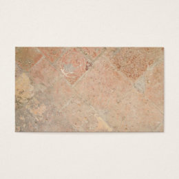 Picture of Vintage Weathered Old tiles. Business Card