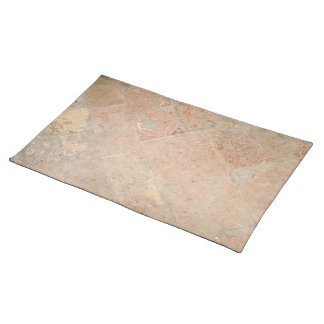 Picture of Vintage Weathered Old tiles. Cloth Placemat