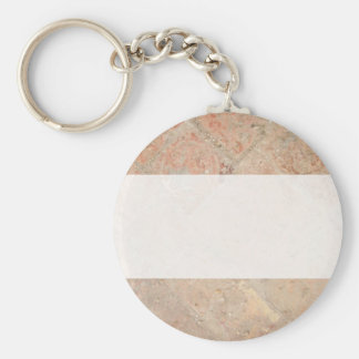 Picture of Vintage Weathered Old tiles. Key Chain