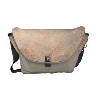 Picture of Vintage Weathered Old tiles. Courier Bag