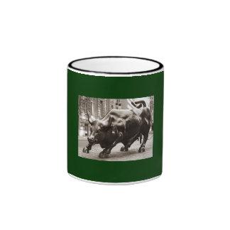 Picture of Wall Street Bull Ringer Mug
