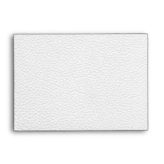 Picture of White Leather. Envelopes